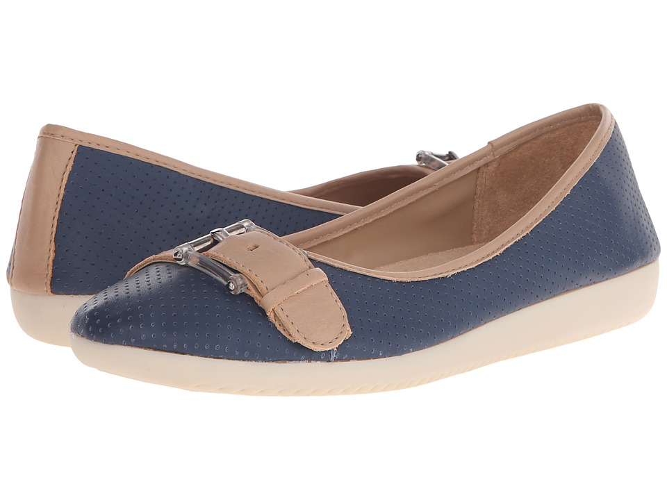 Naturalizer - Kiara (Mali Blue Nubuck/Ginger Snap Leather) Women