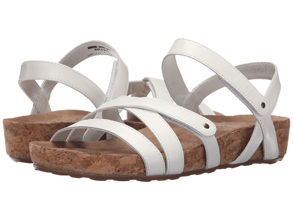 Walking Cradles - Pool (White Cashmere/Cork Wrap) Women