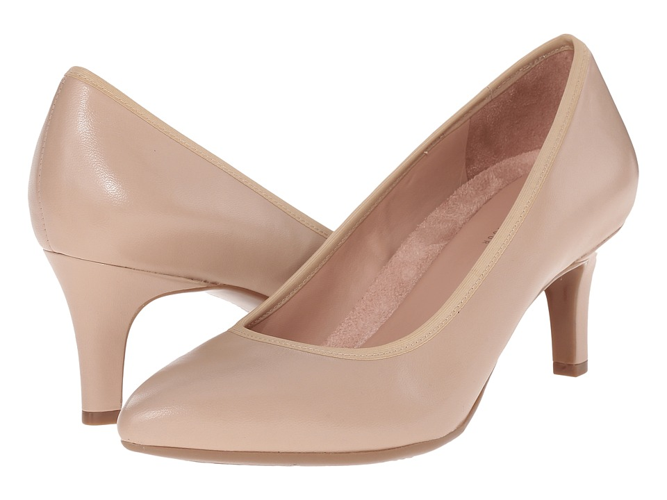 Naturalizer - Oath (Tender Taupe Leather) High Heels