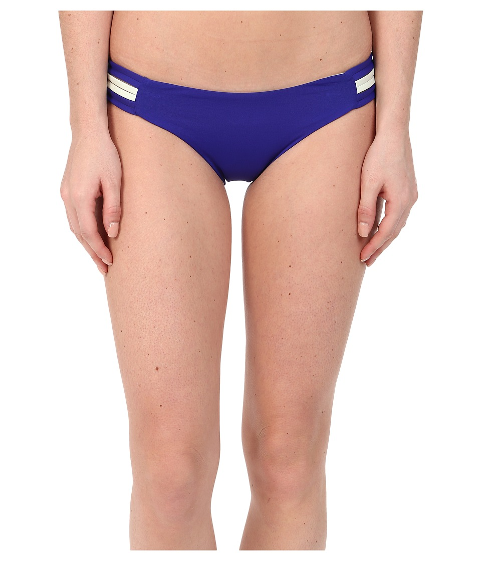 L*Space Two Timer Solids Oasis Bottoms Sapphire Swimwear