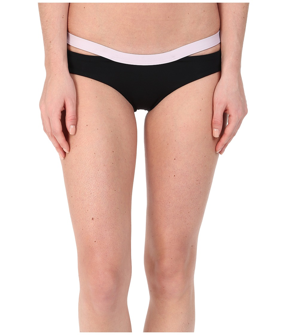 L*Space - Two Timer Solids Hollywood Bottoms (Black) Women's Swimwear