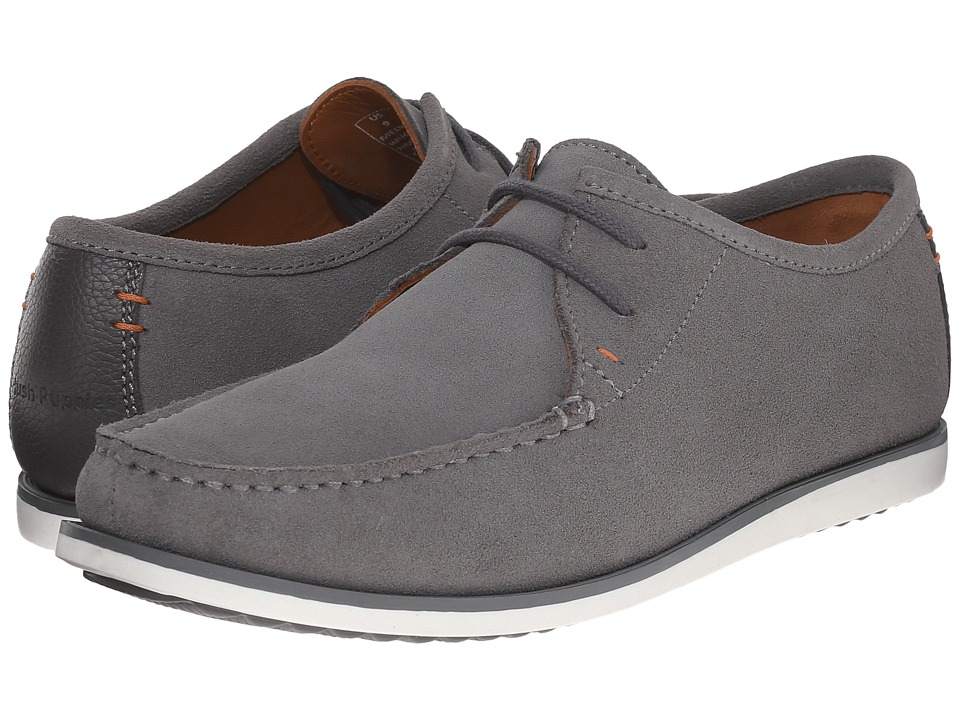 Hush Puppies - Briggs Portland (Light Grey Suede) Men's Lace up casual Shoes