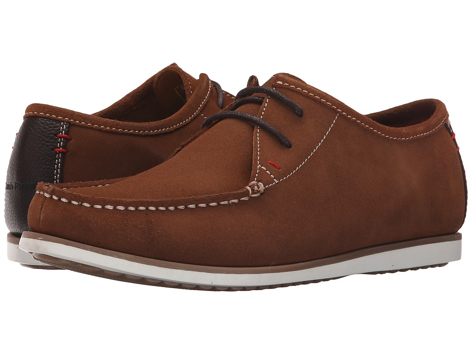 Hush Puppies - Briggs Portland (Rust Suede) Men's Lace up casual Shoes