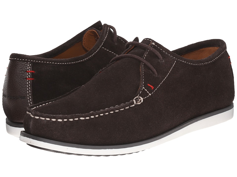 Hush Puppies - Briggs Portland (Dark Brown Suede) Men's Lace up casual Shoes