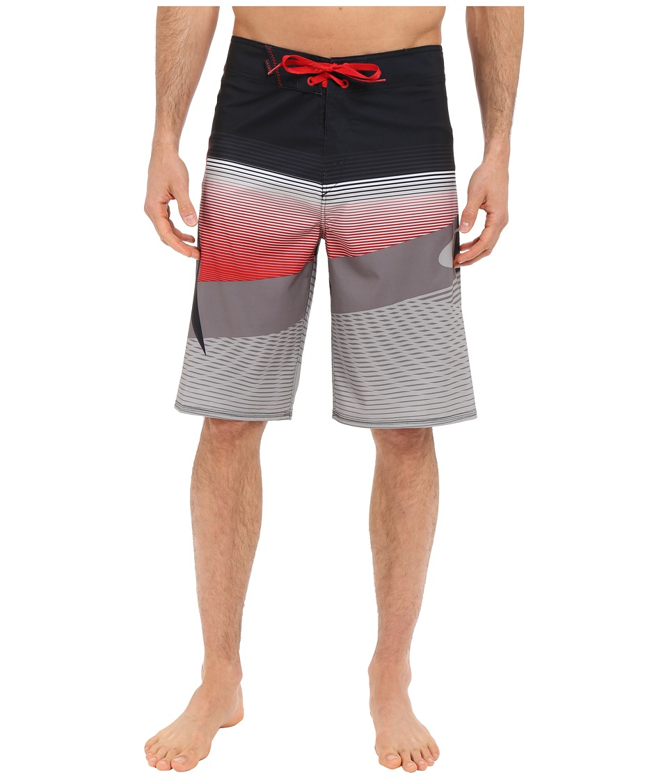 Oakley - Gnarly Wave Boardshorts (Jet Black) Men's Shorts