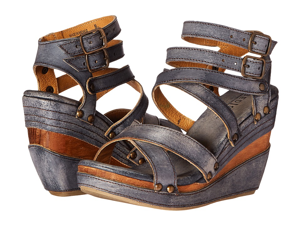 Bed Stu - Juliana (Black Driftwood) Women's Shoes