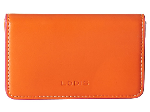 Lodis Accessories - Audrey Mini Card Case (Shamrock/Pink) Credit card Wallet