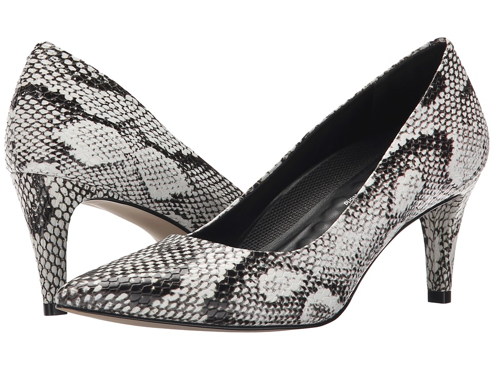 Walking Cradles - Sophia (Black & White Snake Pu) High Heels