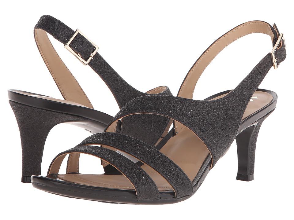 Naturalizer - Taimi (Black Glitter) High Heels