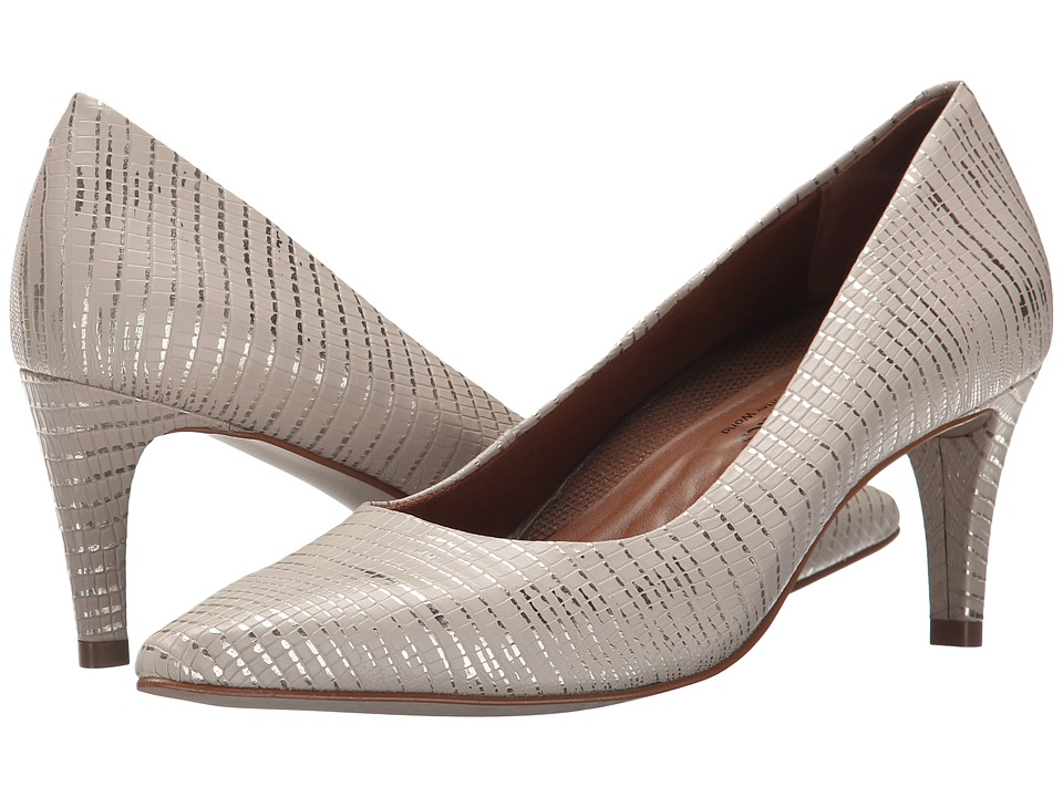 Walking Cradles - Sophia (Beige & Gold Lizard Pu) High Heels