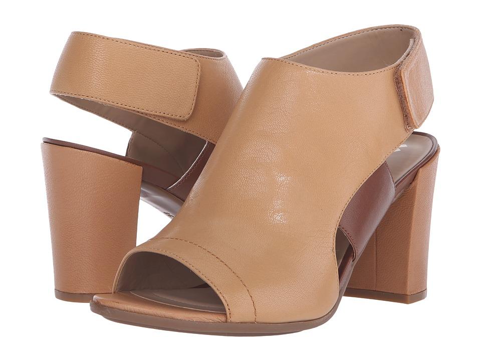 Naturalizer - Zahn (Sandy Pier/Cognac Leather) High Heels