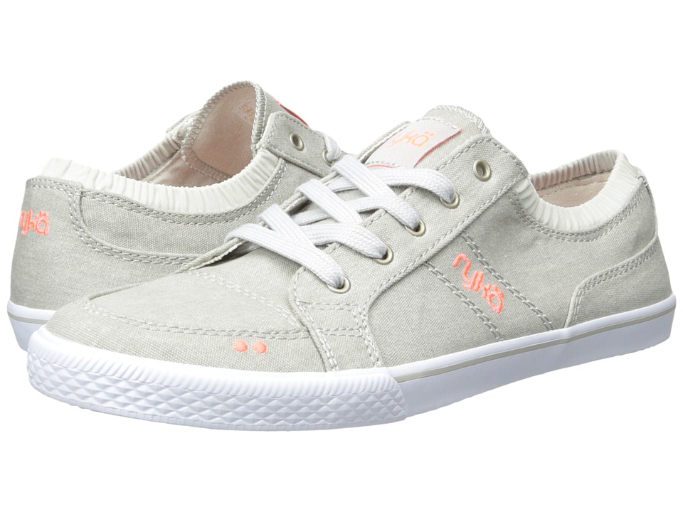 Ryka Emory (Cool Mist Grey/Electric Coral/Chrome Silver) Women