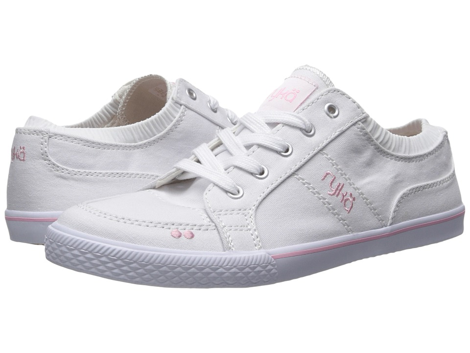 Ryka Emory (White/Candy Pink/Chrome Silver) Women
