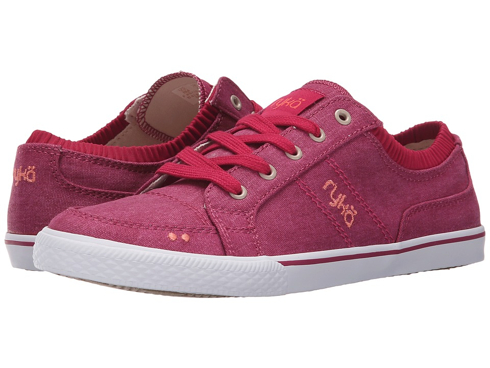 Ryka - Emory (Bright Maroon/Coral Reef/Metallic Light Bronze) Women's Lace up casual Shoes