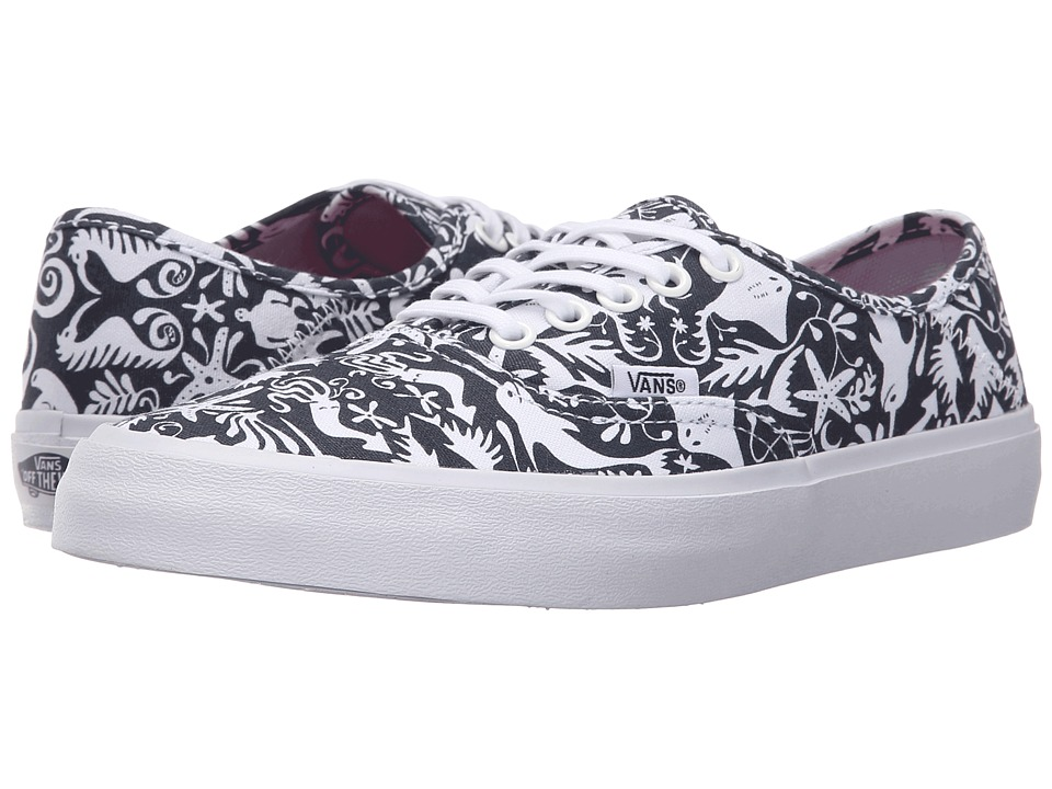 Vans - Authentic SF ((TK Sea Life) Original Navy) Women