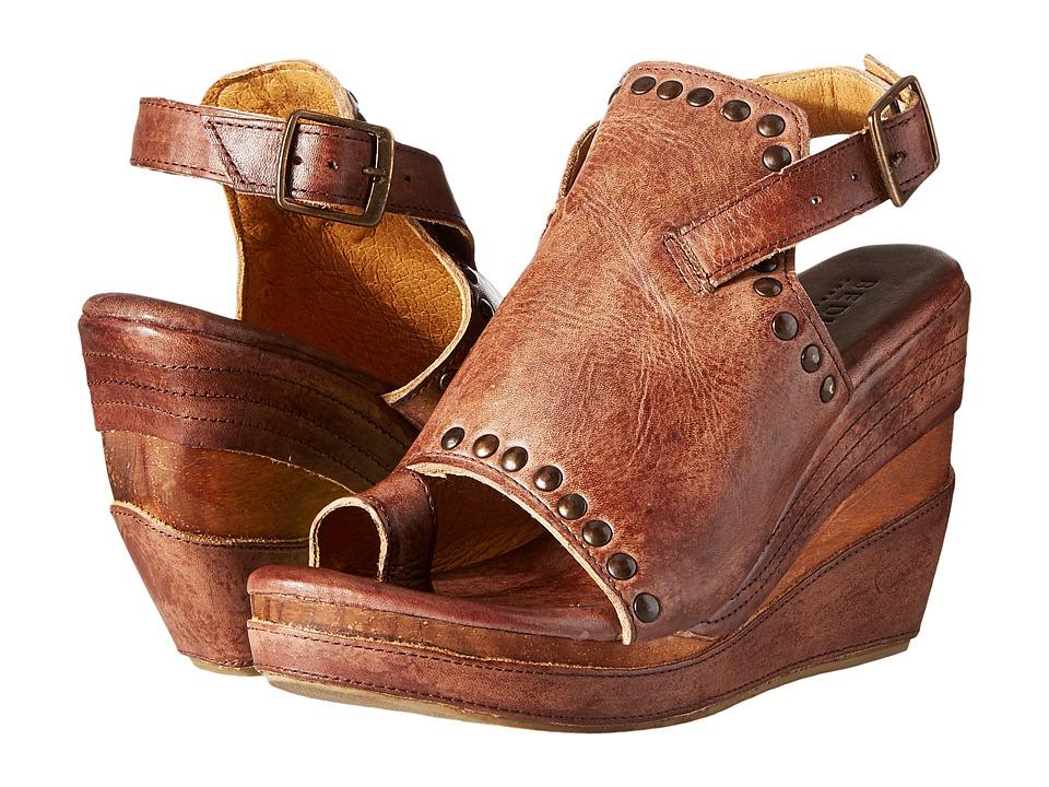 Bed Stu - Joann (Teak Driftwood) Women's Wedge Shoes