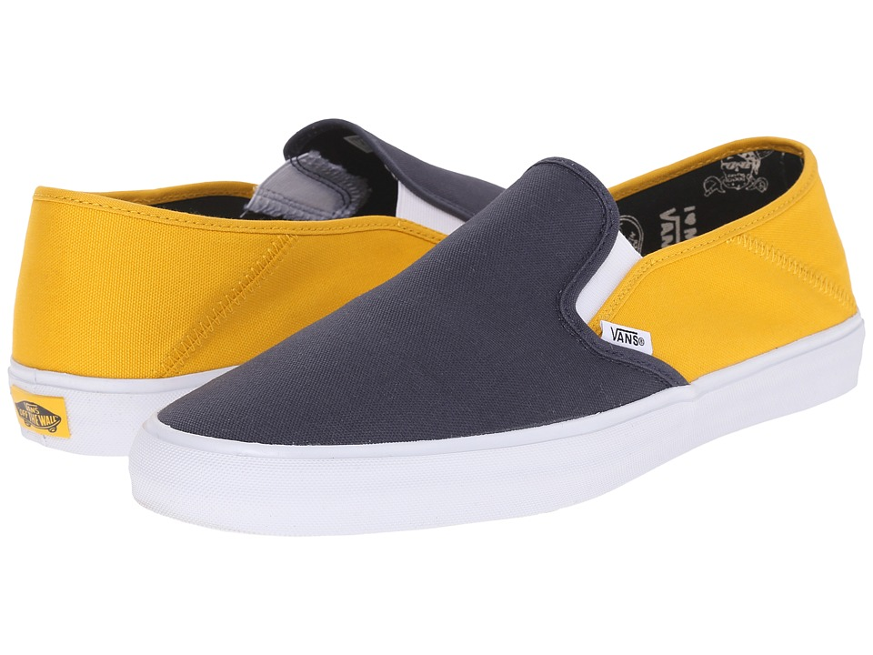 Vans - Slip-On SF ((Captain Fin) Navy/Gold) Slip on Shoes