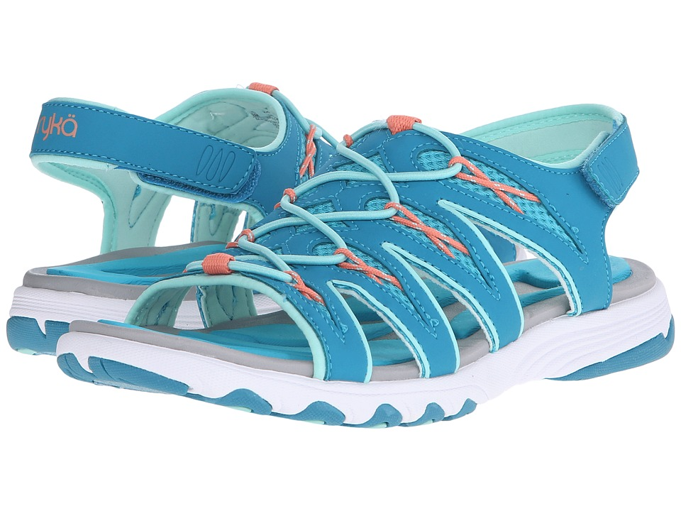 Ryka - Glance (Enamel Blue/Bluebird/Beach Glass/Fusion Coral/Mint Ice) Women's Sandals