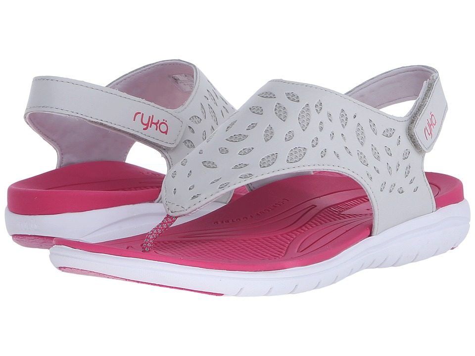 Ryka - Scamper (Grey/Pink/Silver) Women's Sandals