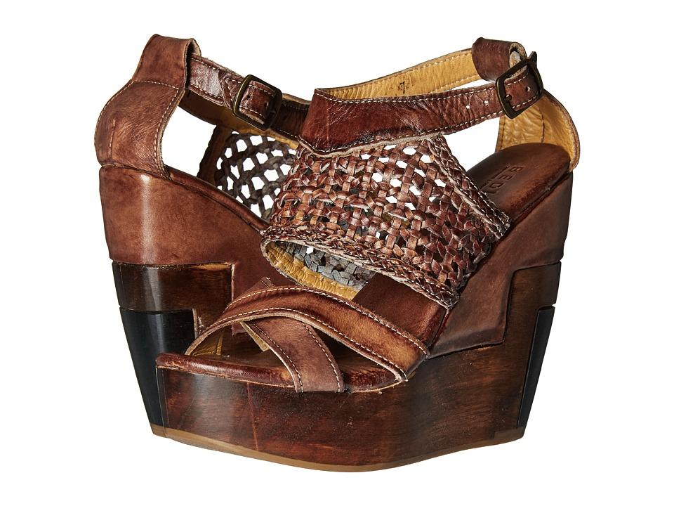 Bed Stu - Petra (Teak Driftwood) Women's Wedge Shoes