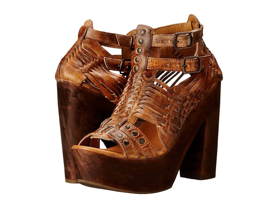 Bed Stu - Cindy (Tan Rustic White) Women's Shoes