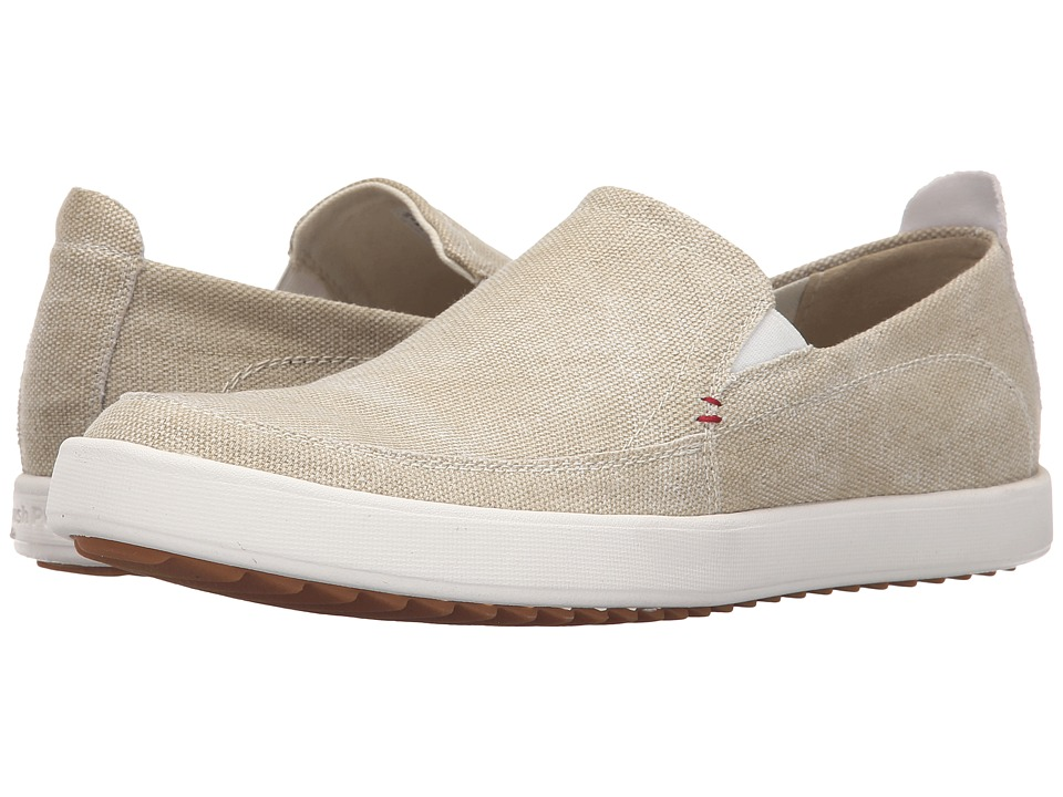 Hush Puppies - Roadside Slip On MT (Natural Canvas) Men