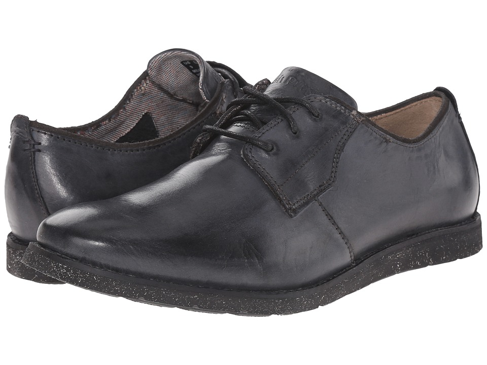 Hush Puppies - Hans Jester (Black Leather) Men