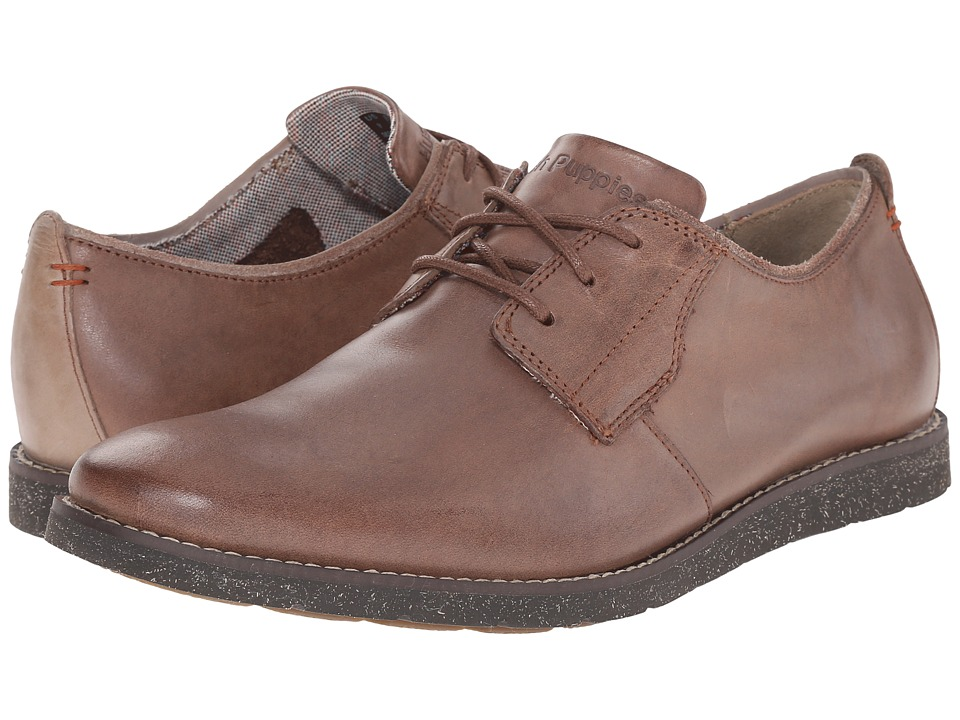 Hush Puppies - Hans Jester (Dark Brown Leather) Men's Lace up casual Shoes