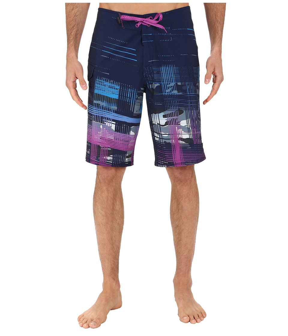 Oakley - Gridlock Boardshorts (Peacoat) Men's Swimwear
