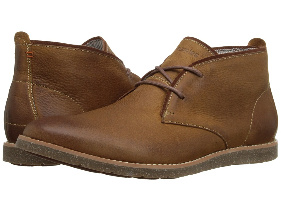 Hush Puppies - Roland Jester (Tan Leather) Men's Lace-up Boots