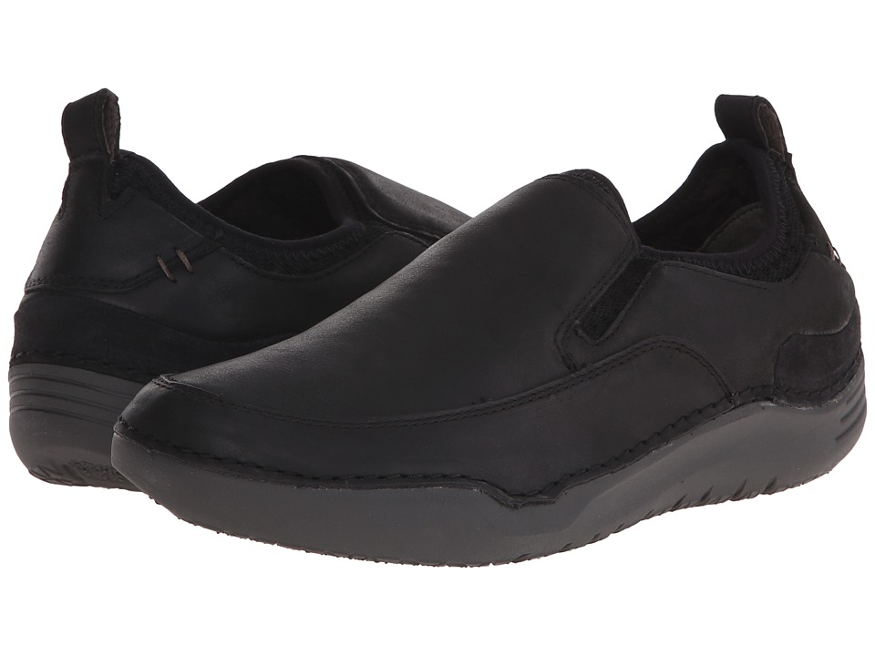 Hush Puppies Crofton Method (Black Leather) Men