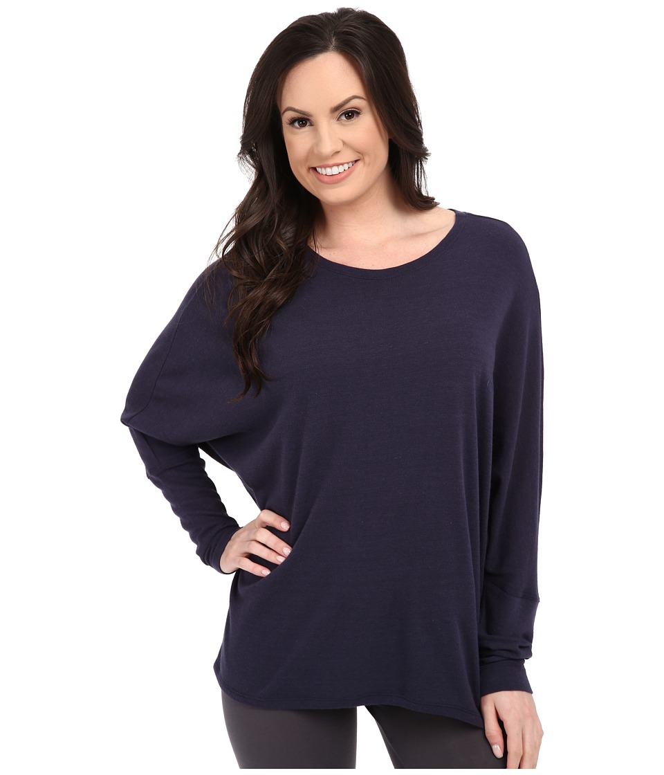 Natori - Cosi Longsleeve Top (Night Dark Navy) Women's Pajama