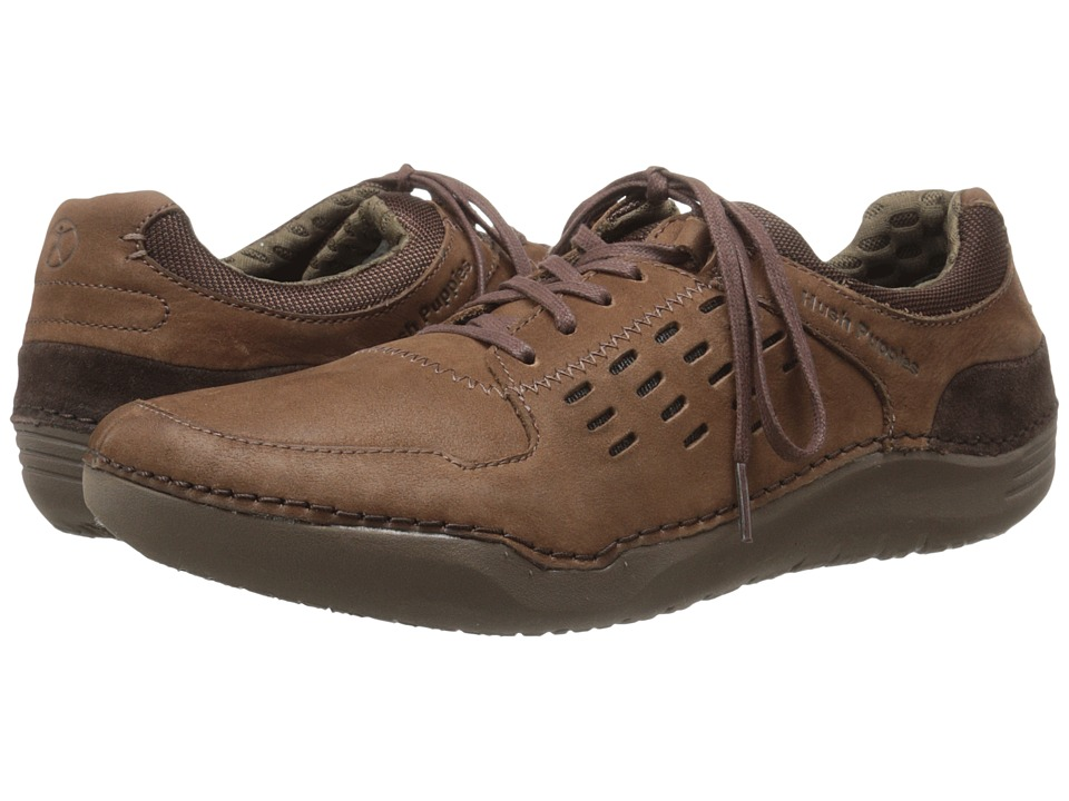 Hush Puppies - Hinton Method (Brown Leather) Men's Lace up casual Shoes