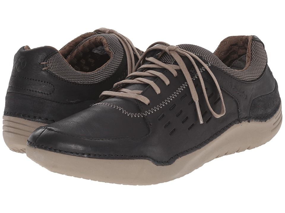 Hush Puppies - Hinton Method (Black Leather) Men's Lace up casual Shoes