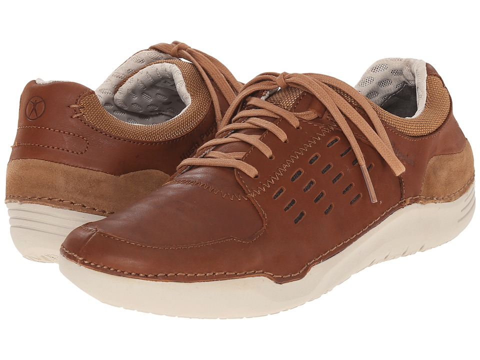 Hush Puppies - Hinton Method (Tan Leather) Men's Lace up casual Shoes