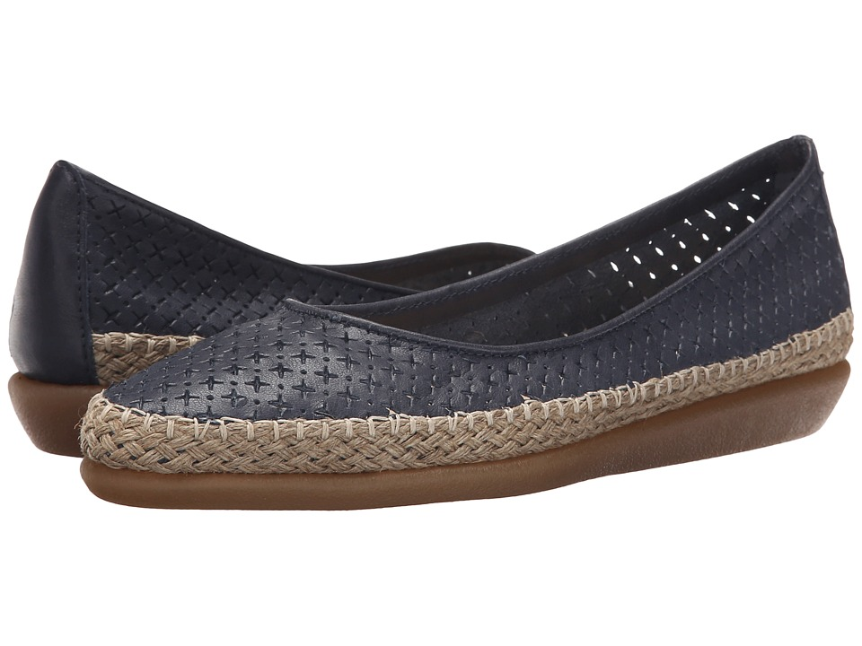 The FLEXX - Torri (Navy Guanto Stella) Women's Flat Shoes