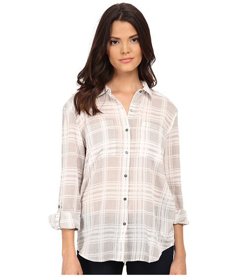 Soft Joie - Lieutenant 5948-27612 (Ash Grey) Women's Blouse