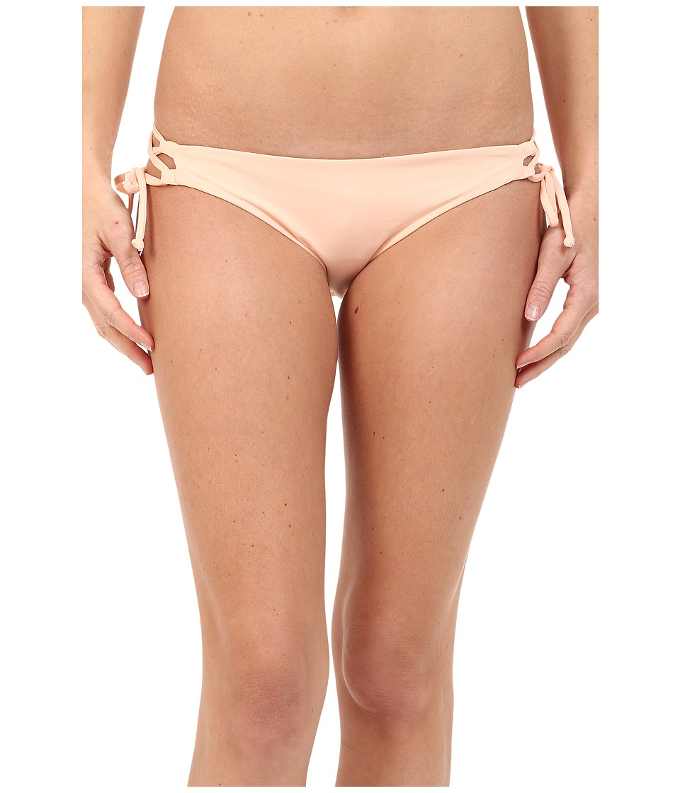 L*Space - Dreamer Crochet Gazebo Bottoms (Creamsicle) Women's Swimwear