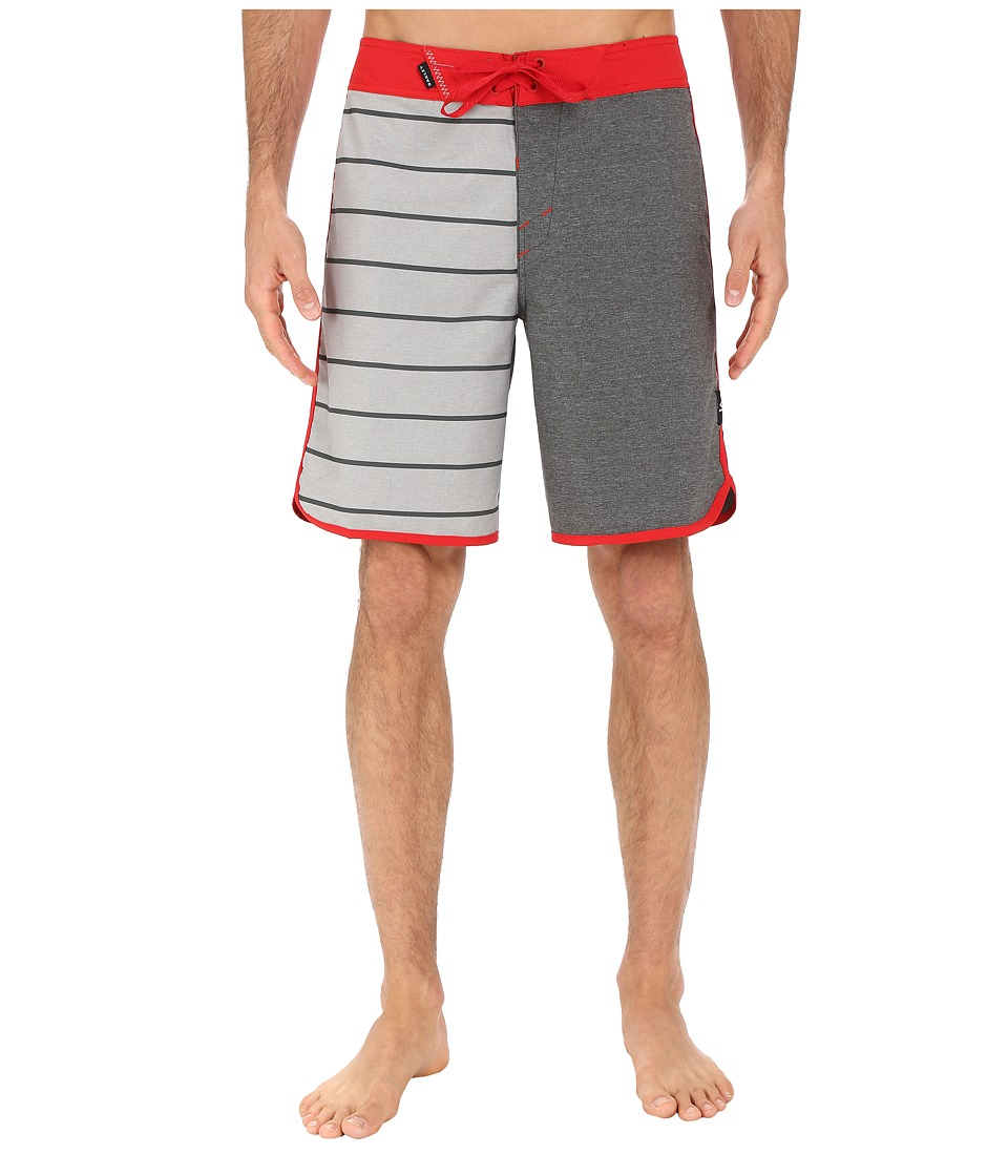 Oakley - The Cave Boardshorts (Red Line) Men's Swimwear