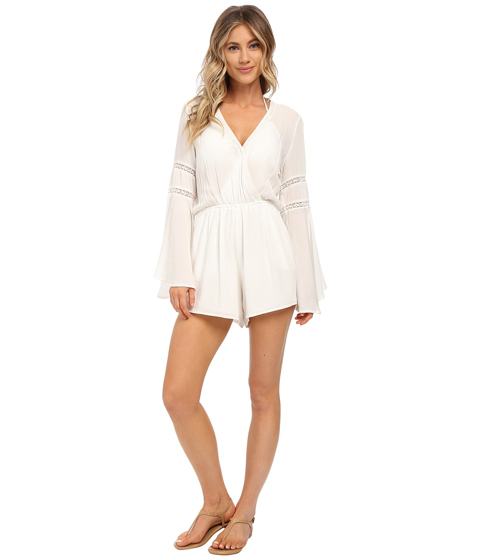 L*Space - Lovestruck Romper Cover-Up (Ivory) Women's Swimwear
