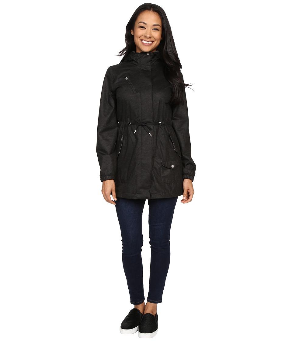 Spyder - Rapt Shell Parka (Black/Image Grey Washed Print) Women's Coat