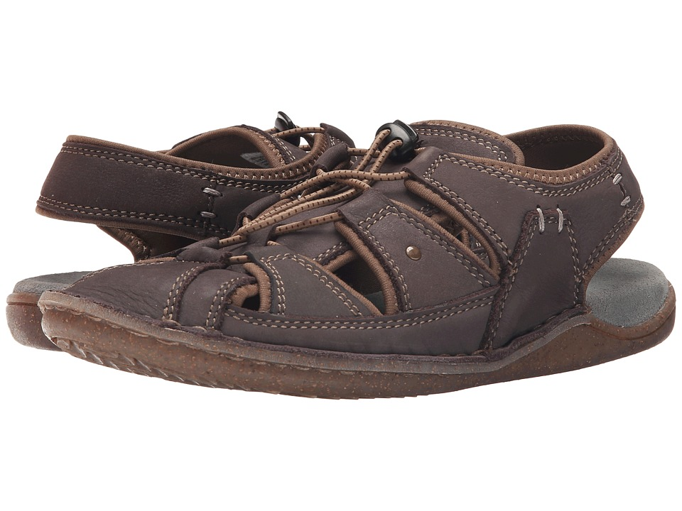 Hush Puppies Bergen Grady (Dark Grey Nubuck) Men