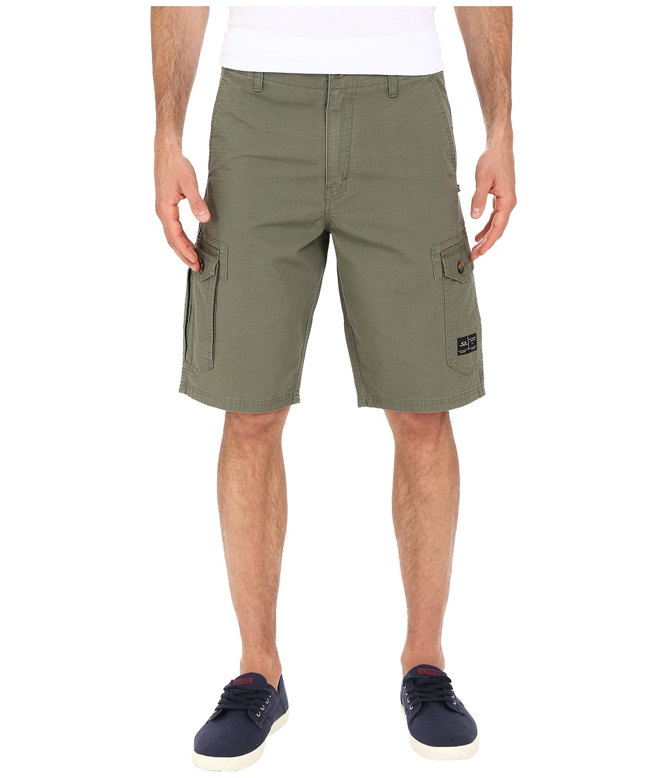 Oakley Foundation Cargo Shorts (Worn Olive) Men