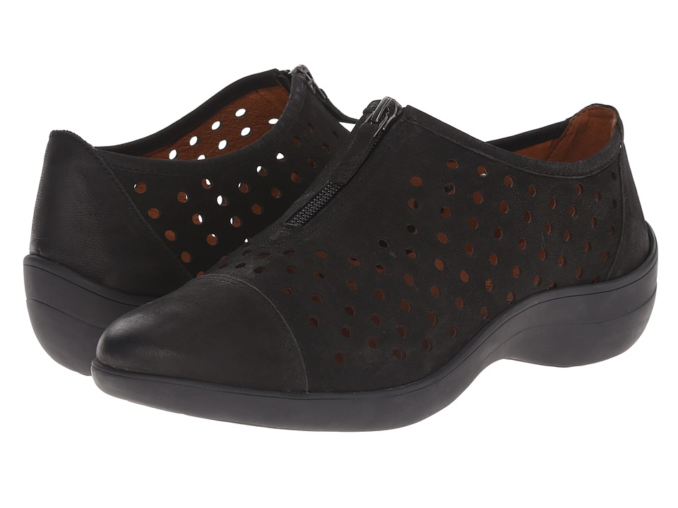 Gentle Souls - Austin (Black Nubuck) Women's Shoes