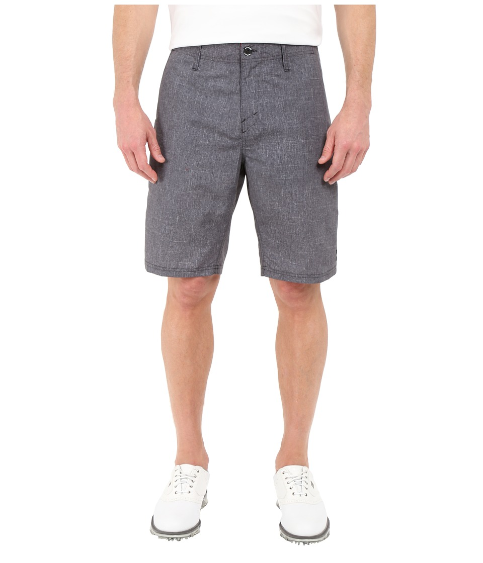 Oakley - Overdrive Hybrid Shorts (Jet Black) Men's Shorts