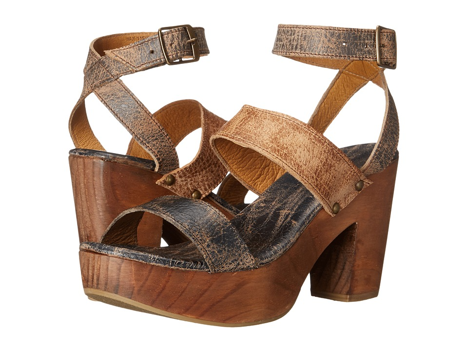 Bed Stu - Sophie (Teak Tan Black Lux) Women's Shoes