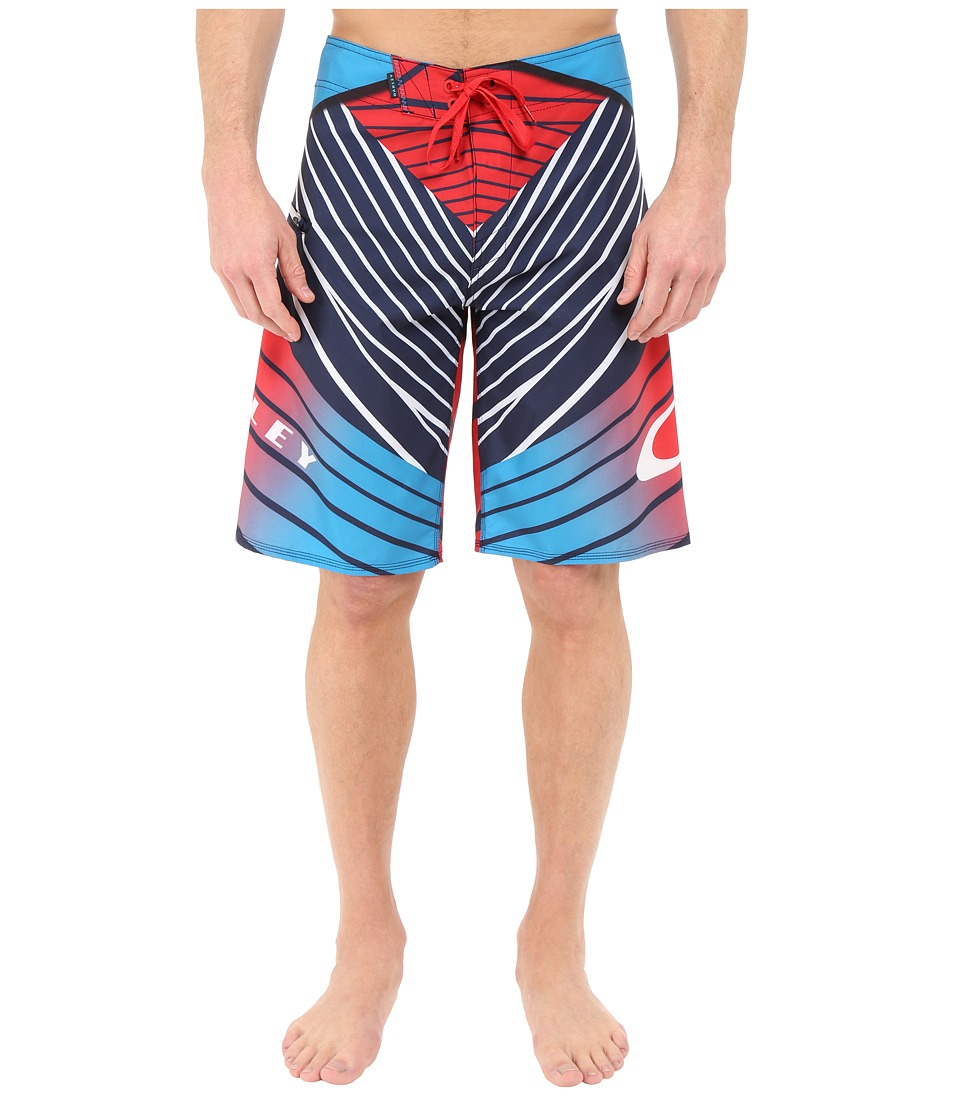 Oakley - The Point Boardshorts (Red Line) Men's Swimwear