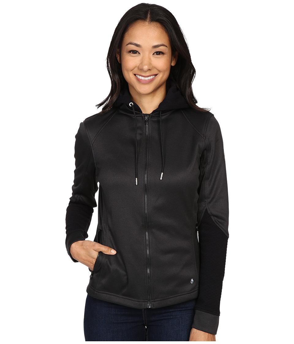 Spyder - Escynt Fleece Jacket (Black/Black/Black) Women's Coat
