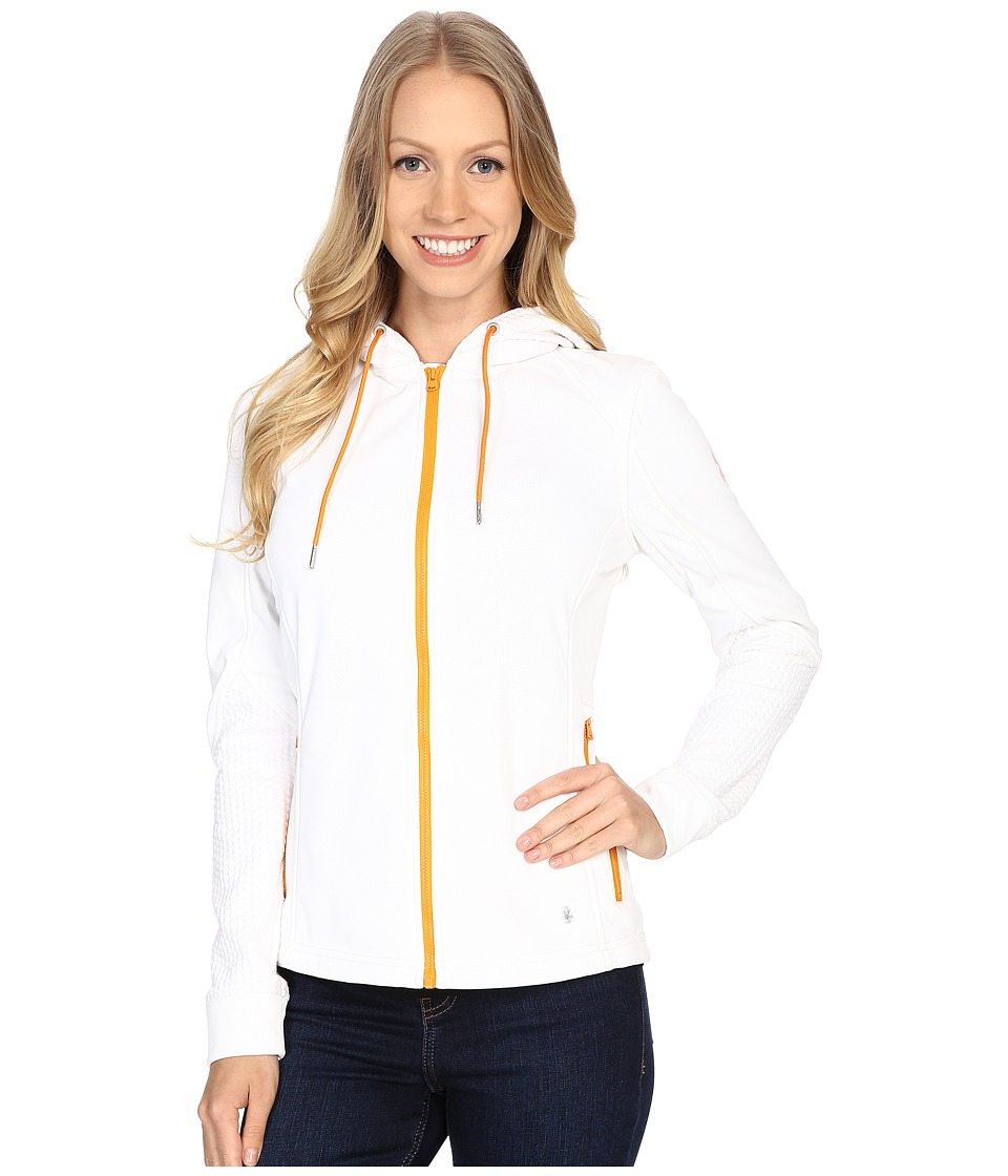 Spyder - Escynt Fleece Jacket (White/White/Edge) Women's Coat