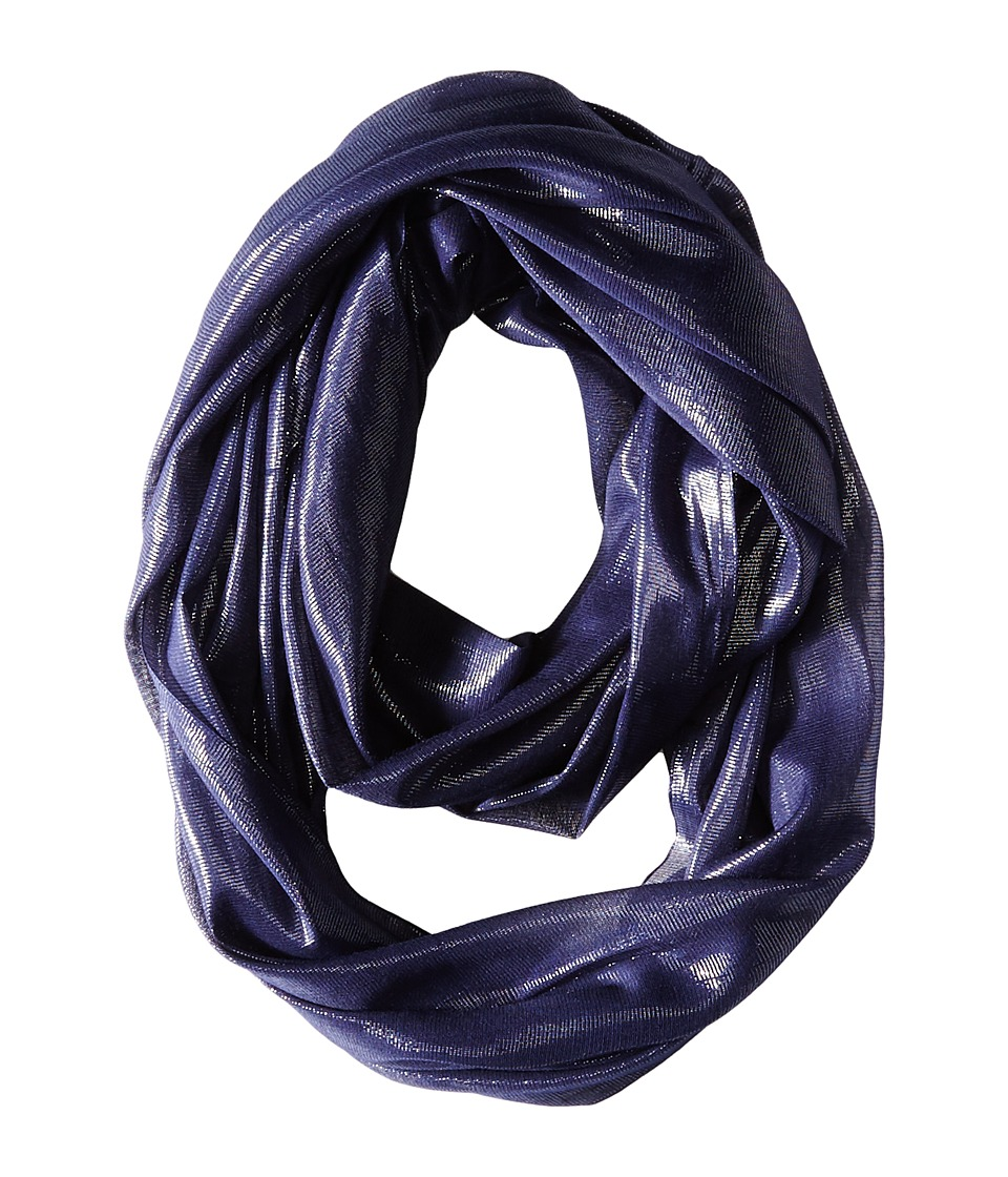 Calvin Klein - Liquid Lurex Waves Infinity (Night) Scarves